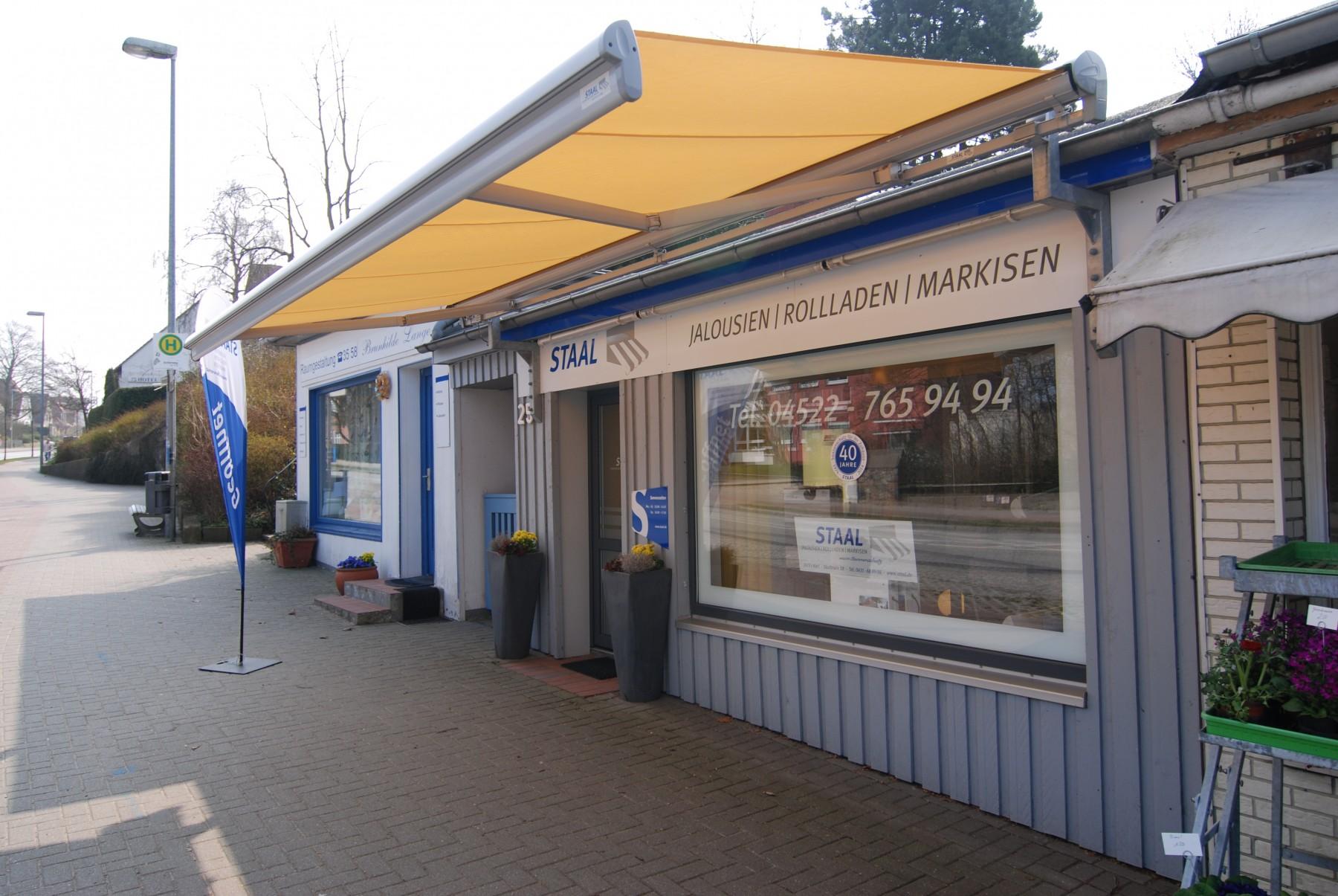 Staal Rollladen- und Sonnenschutz Ausstellung in Plön