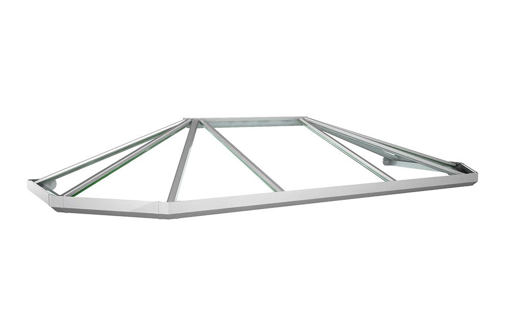 Vordach Modell Jade 3 Aus Aluminium Mit Acrylverglasung