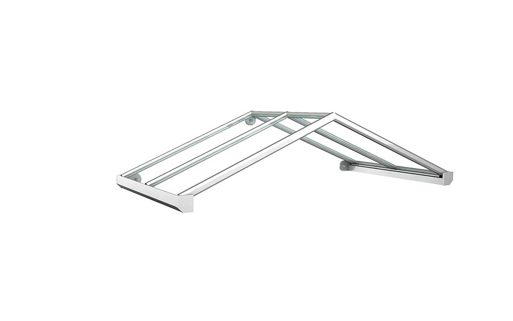 Vordach Modell Rubin 1 - Staal Vordachdesign