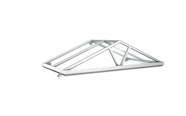 Vordach Modell Saphir 1 - Staal Vordachdesign