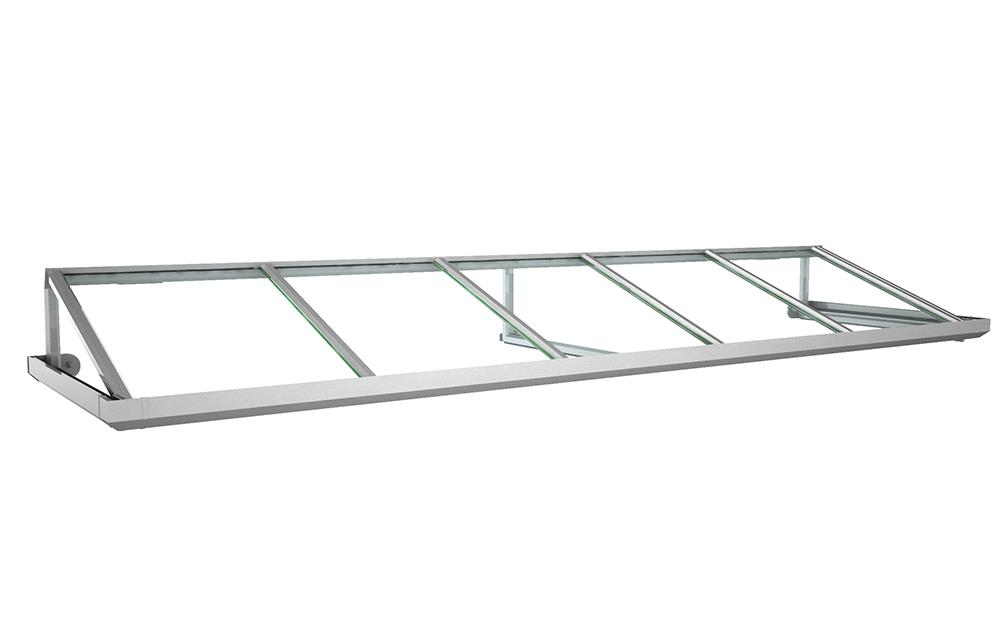 Vordach Modell Topas 1 - Staal Vordachdesign Kiel